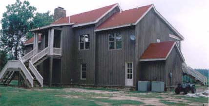 Exterior uses of cypress lumber siding and trim gallery wilson lumber company Exterior board and batten spacing